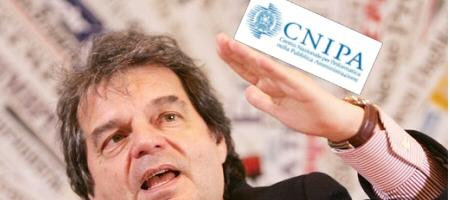 Locandina: Brunetta che raddrizza il CNIPA